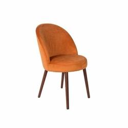 Dutchbone :: Krzesło BARBARA pomarańczowe - pomarańczowy