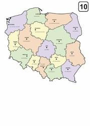 suchościeralna mapa Polski tablica 238