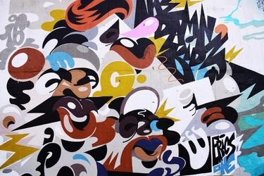 Fototapeta na ścianę kolorowa abstrakcja fp 3748