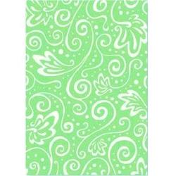 Papier transparentny ze wzorem - zielony - ZIEL