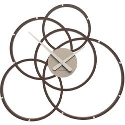 Zegar ścienny do ciastkarni black hole calleadesign czekoladowy 10-215-69