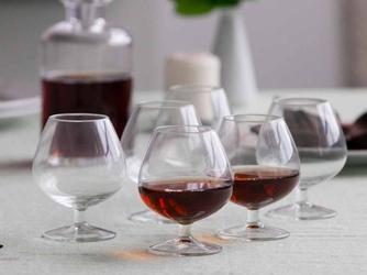 Kieliszki do koniaku i brandy  koniakówki altom design diamond 240 ml, komplet 6 szt.
