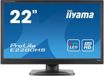 Monitor LED IIYAMA E2280HS-B1 21,5 HDMI - Szybka dostawa lub możliwość odbioru w 39 miastach
