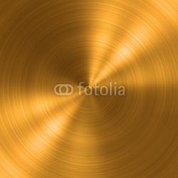 Obraz na płótnie canvas trzyczęściowy tryptyk Okrągła metalowa szczotkowana tekstura