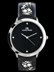 Damski zegarek na pasku JORDAN KERR - W0890 zj729c -antyalergiczny