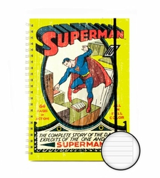 DC Comics Superman No. 1 A4 Notebook - notes