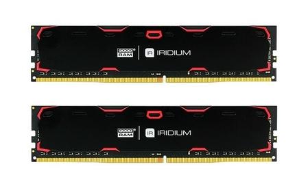 GOODRAM DDR4 IRIDIUM 8GB240024GB 15-15-15 5128 Czarna