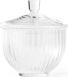 Bomboniera Lyngby szklana Clear 8 cm