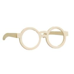 Drewniane okulary do zdobienia - 03 - 03