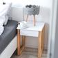 Stolik nocny z szufladą des51 w stylu skandynawskim