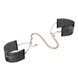 Sexshop - bijoux indiscrets désir métallique handcuffs – stylowe kajdanki z łańcuszkiem - online