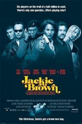 Jackie Brown Half million in cash - plakat