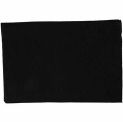 Dekoracyjny filc A4 - czarny - CZA