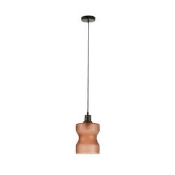 Lampa wisząca NAVOJA brązowa - brązowy