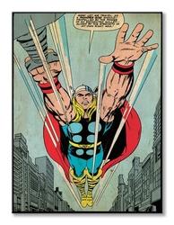 Thor thunder god - obraz na płótnie