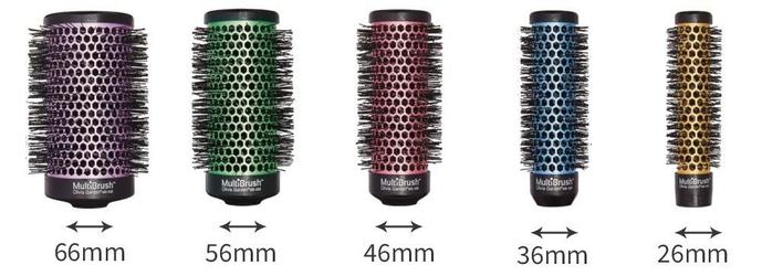 Olivia garden multibrush, korpus szczotki do modelowania włosów fioletowy 66mm
