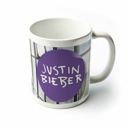 Justin Bieber w koszuli - kubek