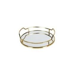 Be pure :: taca metalowa luxurious - złota