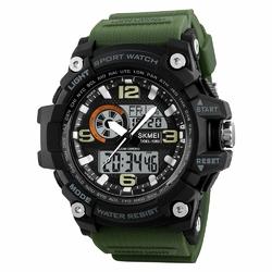 ZEGAREK MĘSKI sport SKMEI 1283 LED army green - army green