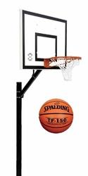 Zestaw do koszykówki 502 Sure Shot Home Court + Piłka do koszykówki Spalding TF-150 FIBA