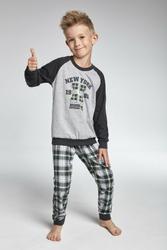 Cornette 17886 New york melanż piżama chłopięca