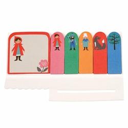 Karteczki samoprzylepne, Czerwony Kapturek, Rex London - czerwony kapturek