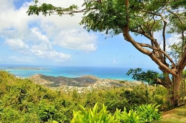 Fototapeta widok na morze ze szczytu góry fp 1720