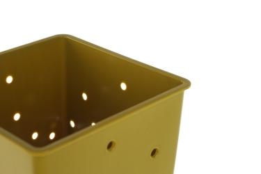 Practic plastikowy ociekacz na sztućce oliwkowy