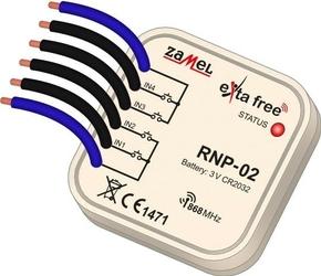 Radiowy nadajnik dopuszkowy 4-kan. exta free rnp-02 - szybka dostawa lub możliwość odbioru w 39 miastach
