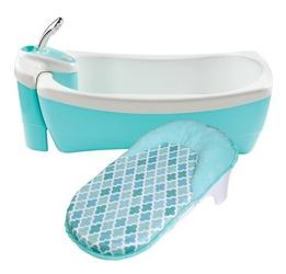Wanienka z prysznicem summer infant - niebieska