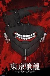 Tokyo ghoul maska - plakat