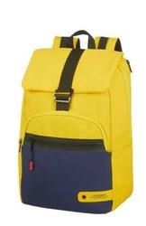 AMERICAN TOURISTER Plecak na laptopa 15.6 CITY AIM niebiesko-żółty