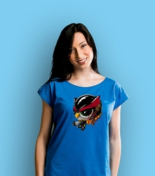 Black widowulka t-shirt damski niebieski xxl