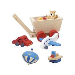 Zabawki drewniane akcesoria do domku