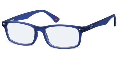 Okulary z filtrem niebieskim do czytania granatowe montana blfbox83c