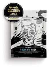 Barber pro under eye mask - kolagenowe płatki pod oczy z węglem aktywowanym i popiołem wulkanicznym 3 pary