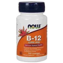 Now vitamin b-12 2000mcg 100lozenges