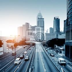 Obraz drogi i miasta