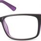 Oprawki zerowki korekcja sunoptic cp150e czarno-fioletowe