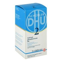 Biochemie dhu sól nr 2 fosforan wapniowy d6, tabletki