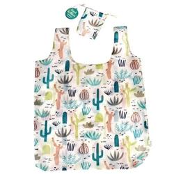 Zwijana torba na zakupy, kaktusy, rex london - kaktusy
