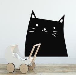 Naklejka na ścianę - kitty smile , wymiary naklejki - szer. 150cm x wys. 150cm