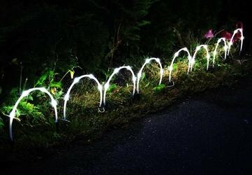 Lampki solarne w kształcie łuków 32 led