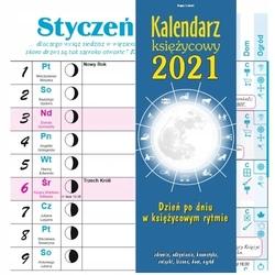 Kalendarz księżycowy 2021 ścienny