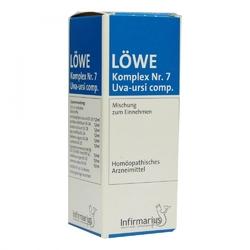 Loewe komplex nr. 7 uva ursi comp. tropfen