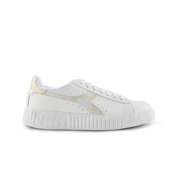 Sneakersy damskie diadora game p step wn - złoty