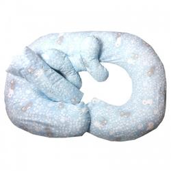 Poduszka ciążowa do karmienia w ciąży króliczki zestaw
