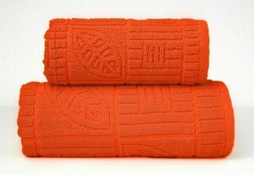 BONITA POMARAŃCZOWY ręcznik bawełniany GRENO - pomarańczowy