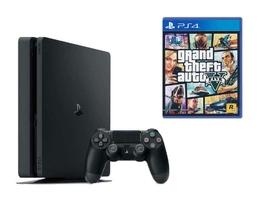 KONSOLA SONY PS4 1TB SLIM + Grand Theft Auto V PL