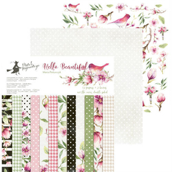 Papier Hello Beautiful 30,5x30,5 cm - zestaw